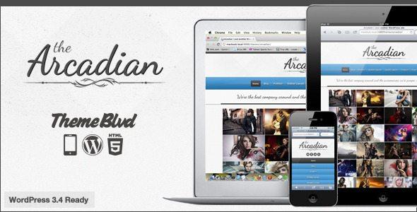 Arcadian Responsive WordPress Theme - Ellis Benus - Web Design Columbia Mo