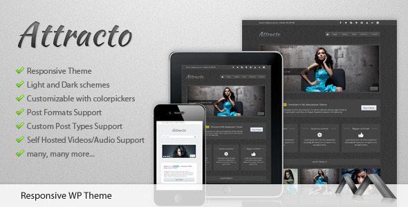 Attracto Responsive WordPress Theme - Ellis Benus - Web Design Columbia Mo