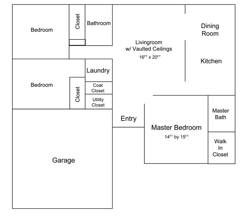 Floor Plan   Columbia Missouri Single Family Home for Sale