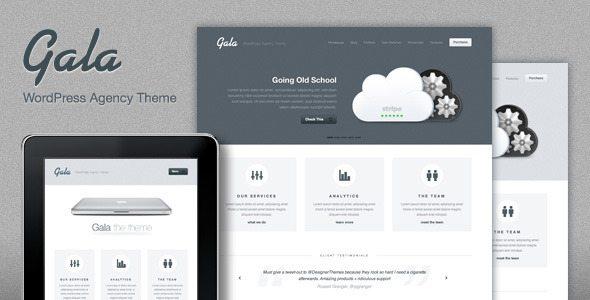 Gala Responsive WordPress Theme - Ellis Benus - Web Design Columbia Mo