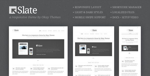 Slate Responsive WordPress Theme - Ellis Benus - Web Design Columbia Mo