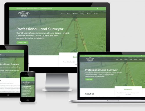 Patchett Land Surveying  – New Design