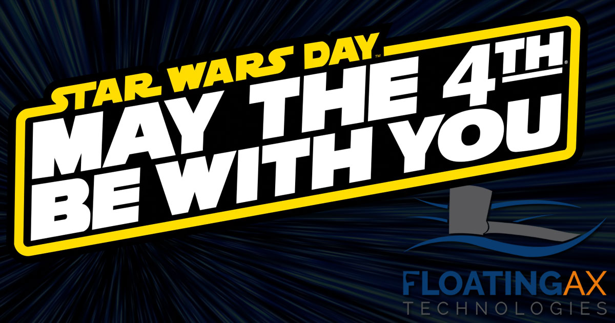 May the 4th Star Wars Day Floating Ax Technologies Website Design Webdesign Web Development Digital Marketing SEO Columbia Missouri