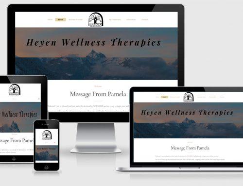 Heyen Wellness Therapies – New Design