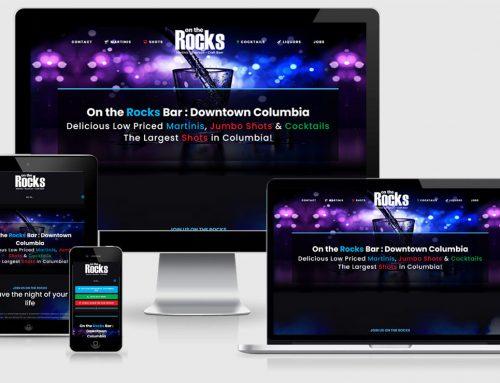 On The Rocks – New Design